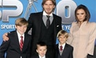 david beckham s son swears in spanish
