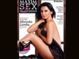 sexy minissha lamba on the cover of maxim