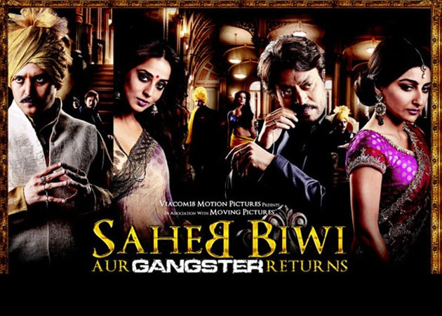 Movie review: Saheb Biwi Aur Gangster Returns</