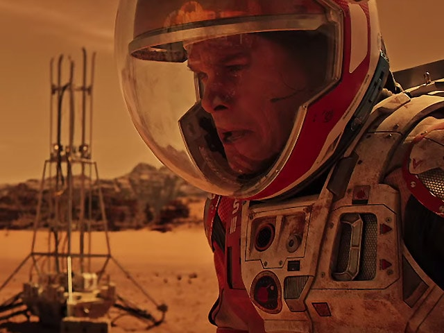 Review: In The Martian, Marooned but Not Alone