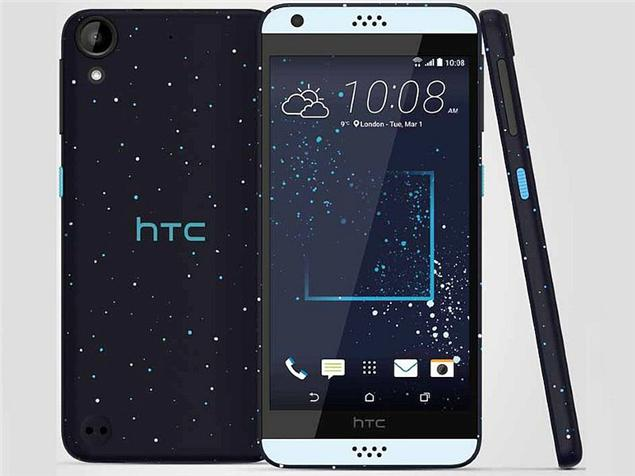 HTC Desire 630 smartphone was launched in February 2016. The phone ...