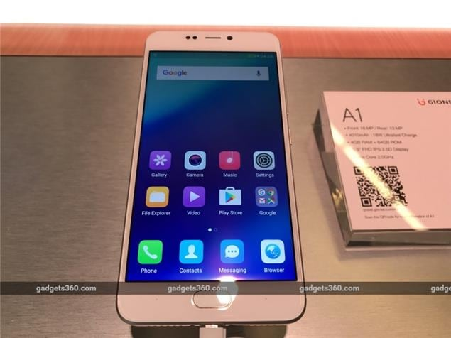 MWC 2017: Gionee Introduces the A1 & A1 Plus 'Selfie-Focused' Smartphones