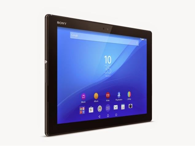 Sony Xperia Z4 Tablet tablet was launched in March 2015. The tablet