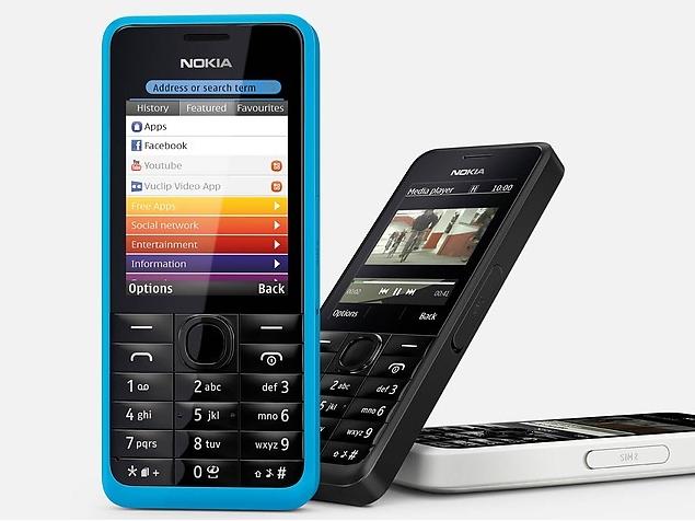 Nokia 301 Dual SIM price, specifications, features, comparison
