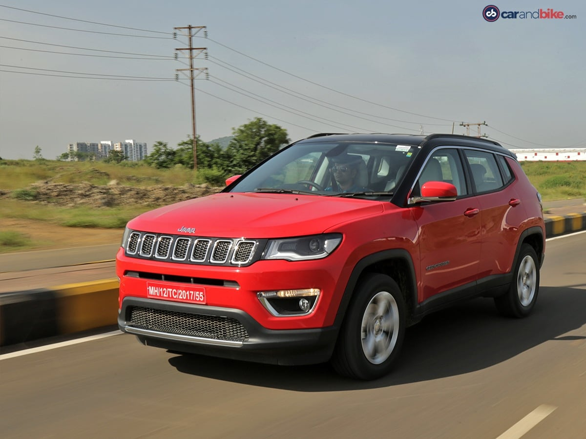 2017 Jeep Compass Petrol Automatic