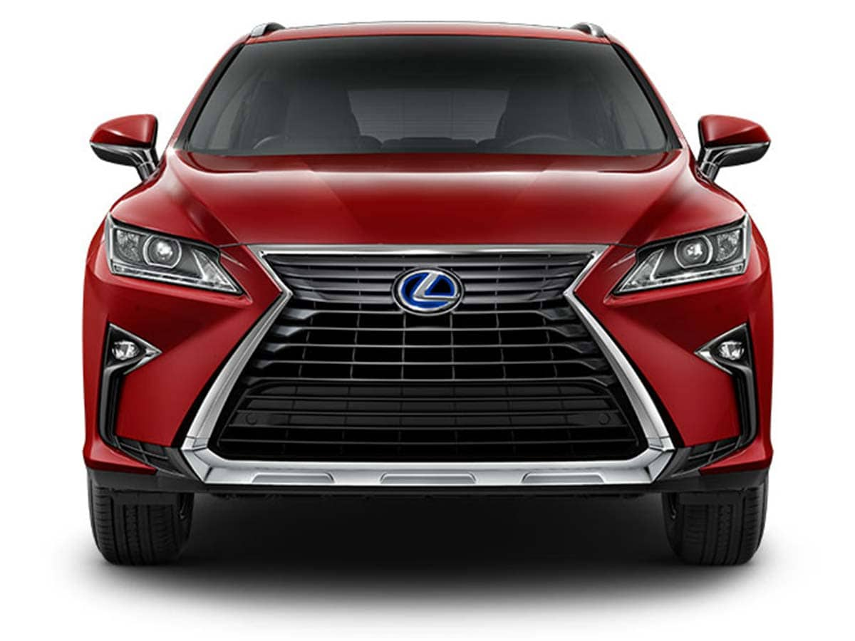 India will be getting the latest generation model of the Lexus RX 450h that comes with a design that clearly makes it stand out. The front features a prominent X-shaped front grille, chiselled flanks, sharp headlamps with LED daytime running lights, and smooth character lines on the bonnet.