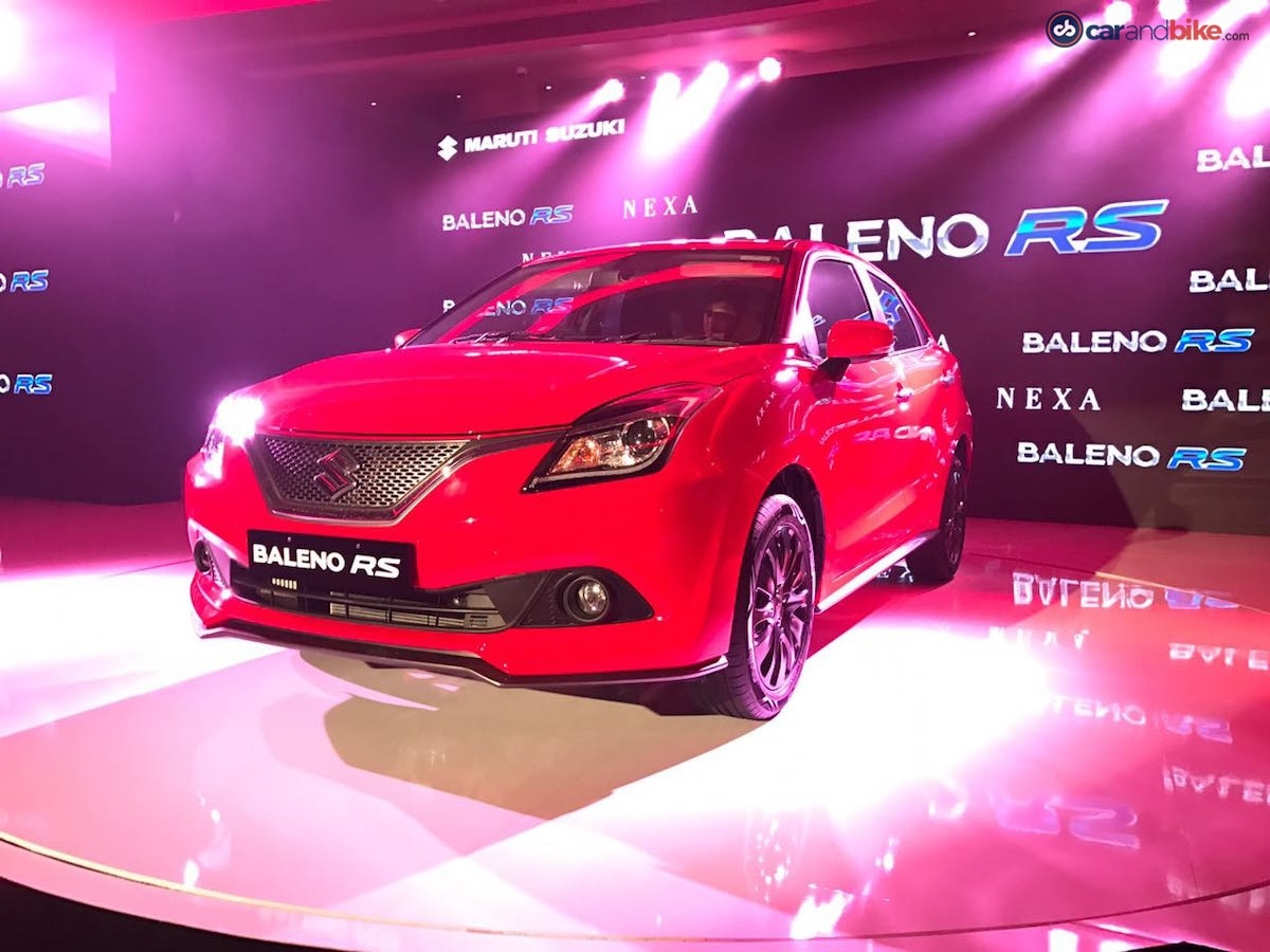 The Baleno RS is the most powerful hatchback to be offered by Maruti Suzuki.