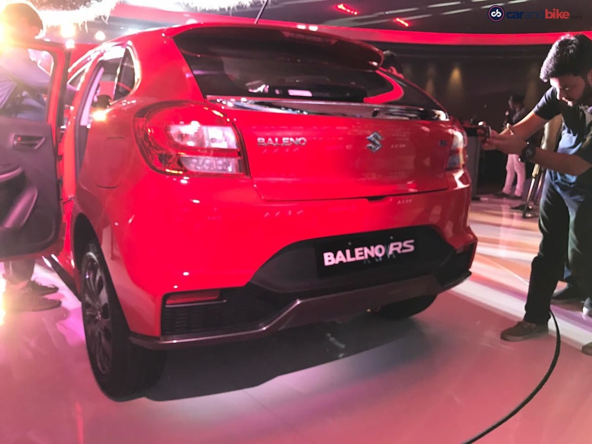 The rear bumper too has been revised and gets larger air intakes and also comes with a faux diffuser. The new blacked out unit helps reduce the visual bulk on the hatchback, while also bringing out a two-toned effect.