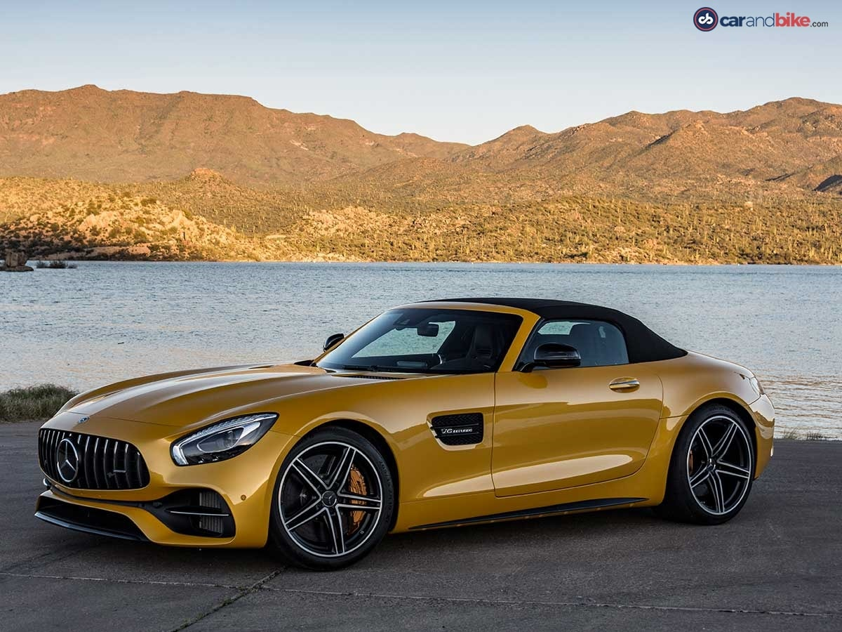 The car comes in two variants - the Standard AMG GT Roadster and the more powerful GT C Roadster