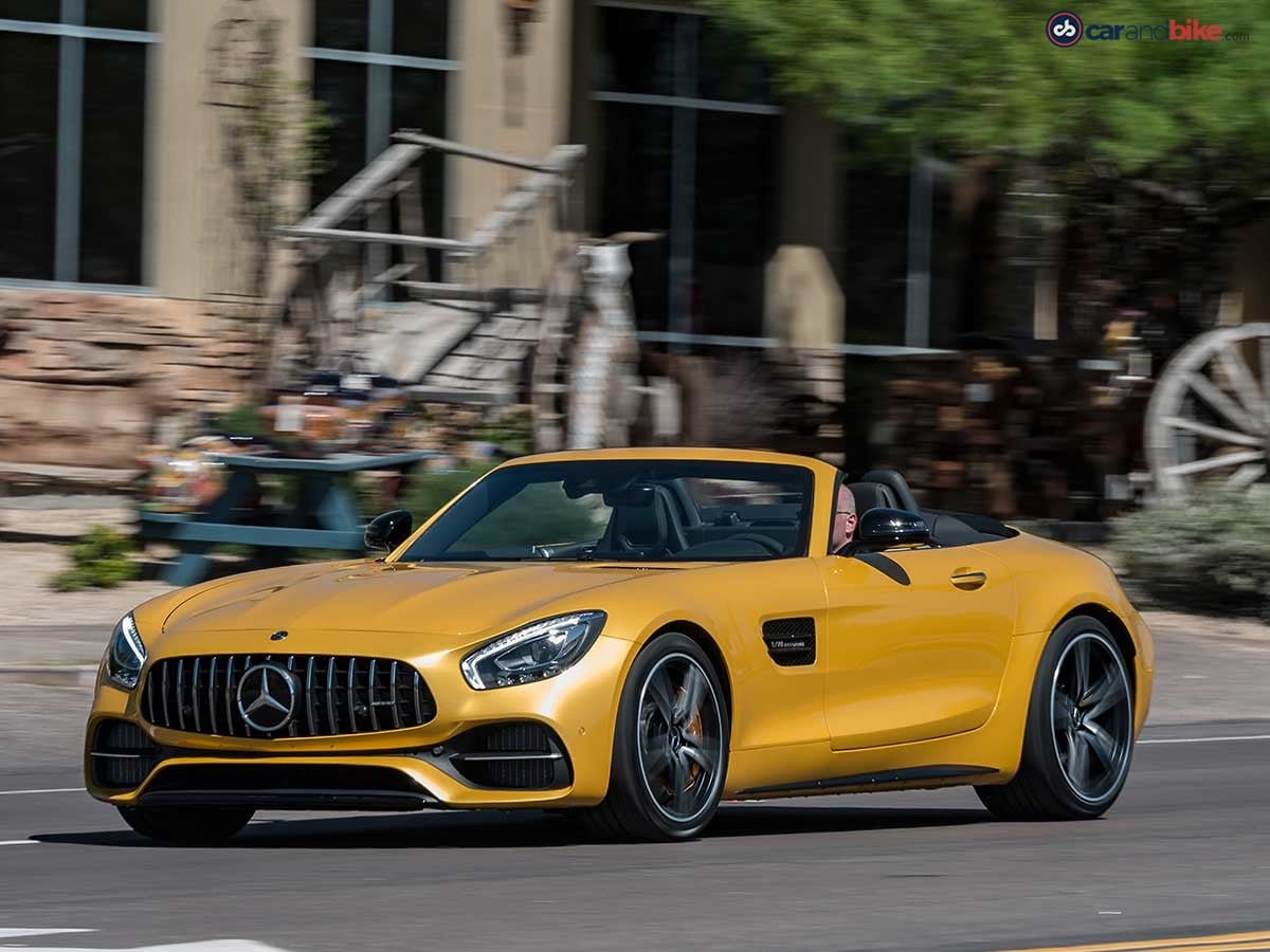 Mercedes-Benz India will be bringing in only the standard, base variant of the AMG GT roadster to India.