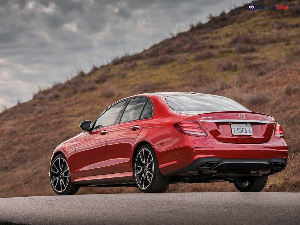 The E 43 AMG comes with a 3.0 litre V6 biturbo engine that makes 396 bhp and comes mated to a 9G-TRONIC automatic transmission with 4Matic all-wheel-drive system.