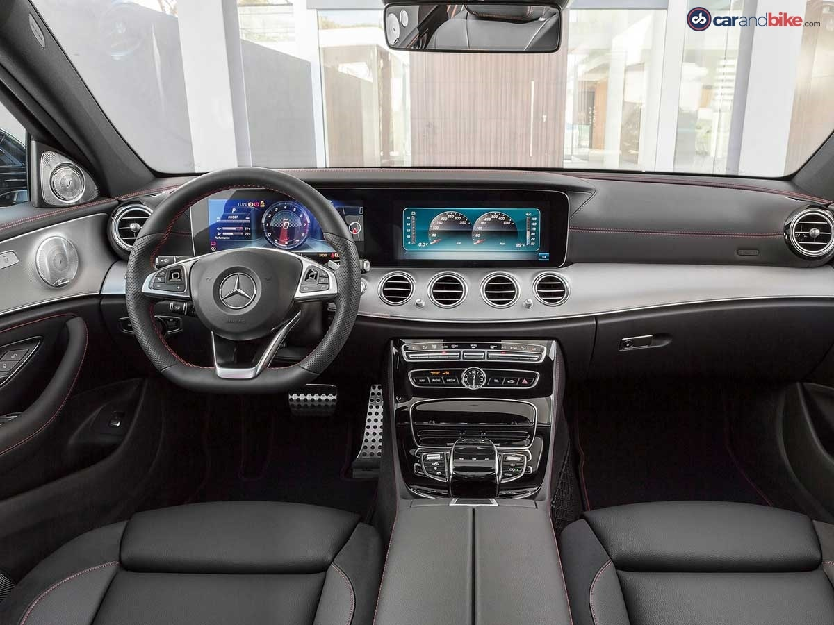 The interior reinforces the dynamic calibre of the new E43 4Matic with numerous individual details.
