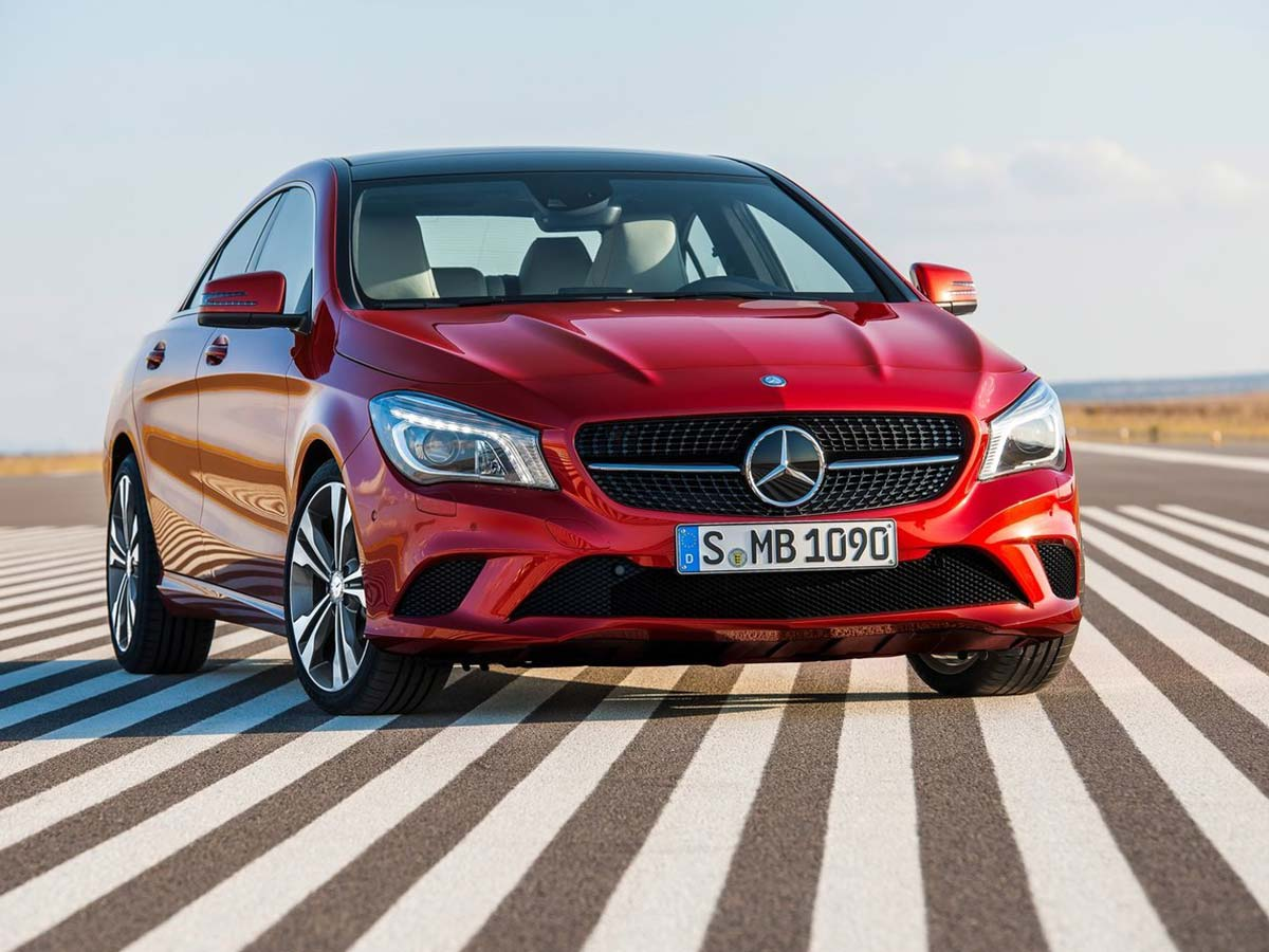 mercedes benz cla class photo gallery