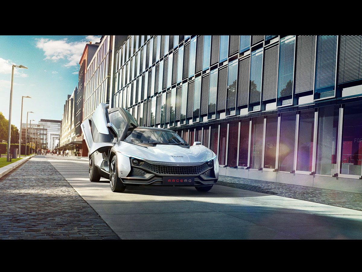 TAMO Racemo is the first-of-its-kind product from the carmaker that previews the company' future mobility solution.