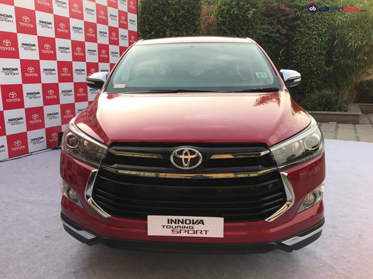 The Innova Crysta Touring Sport will be available only on the top-of-the-line ZX variant of the Innova Crysta.