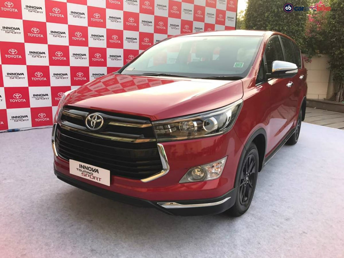 The Toyota Innova Crysta Touring Sport is a special edition model commemorating one year of the Toyota Innova Crysta
