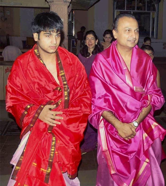 Anil Ambani Sons Name Anil Ambani's Younger Son Jai