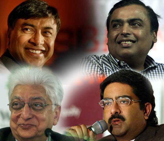 10 richest Indians in 2012: Forbes