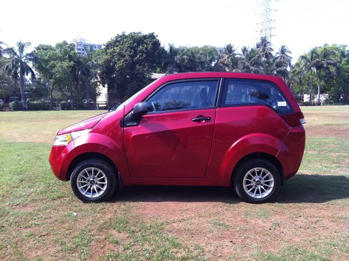 Mahindra launches electric car e2o