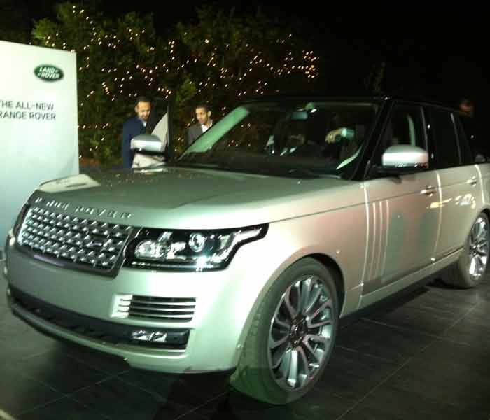 The fourth-generation Range Rover