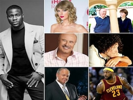 Top Americans In Forbes Highest-Paid Celebrities List