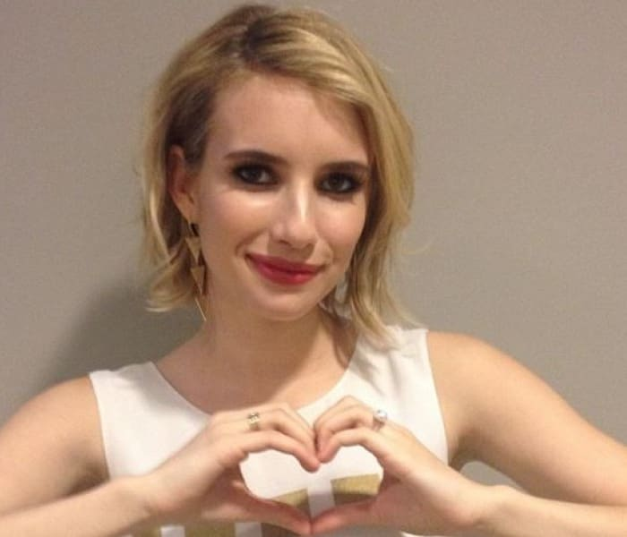 Emma Roberts low-key birthday lunch