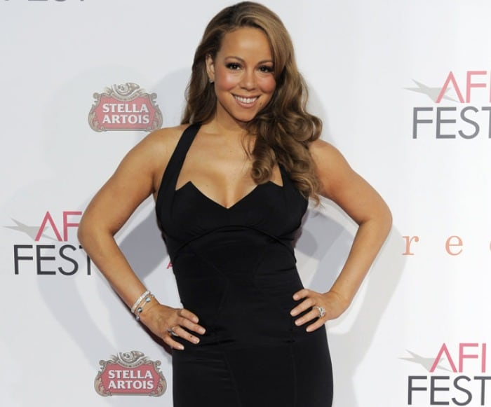 Only purple food for Mariah Carey?