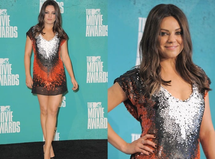 Kunis not gaining weight