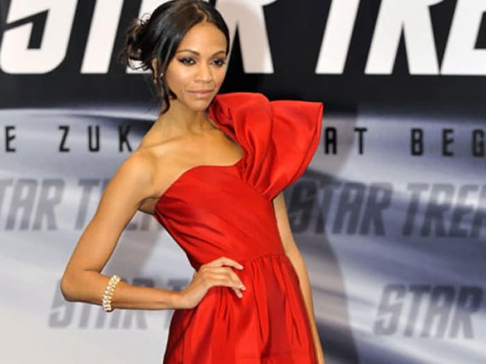 I did not go gym last year: Zoe Saldana