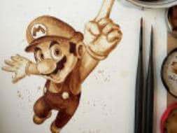 Photo : Coffee Creations: The Art of Painting with Coffee
