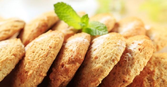 Microwave Eggless Cookies
