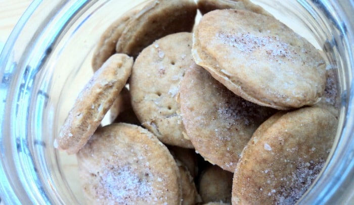 Oatmeal and Almond Cookies