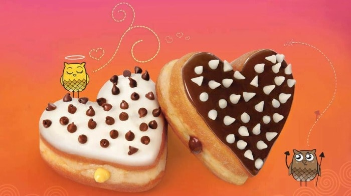 Cupid is striking at Dunkin' Donuts India
