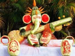 Ganesh Chaturthi Special: Festive Food Art