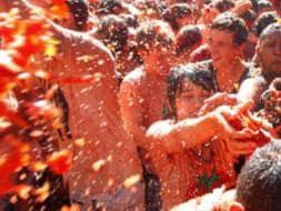 La Tomatina Festival - In Pictures