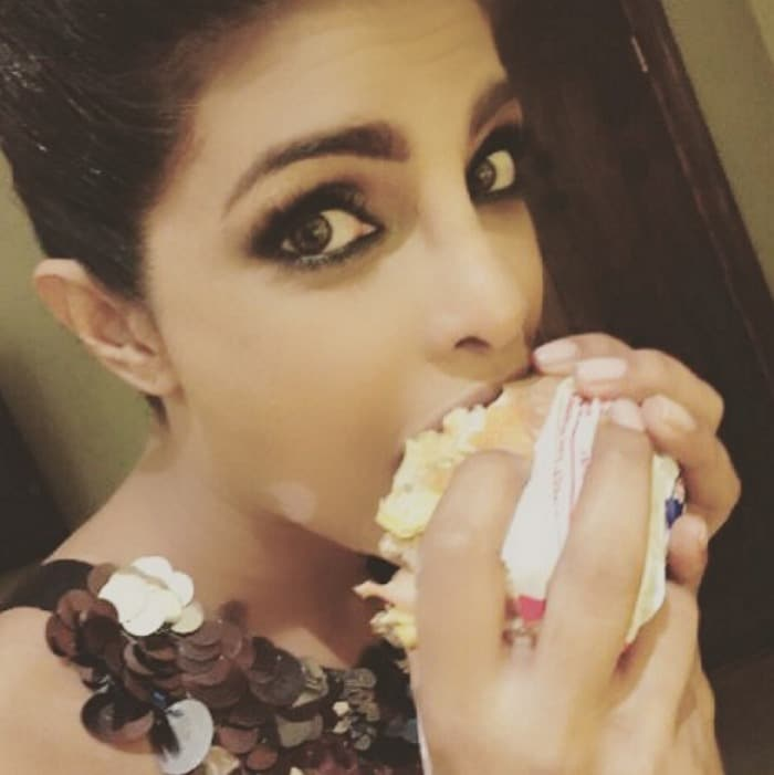 Image result for priyanka chopra eating