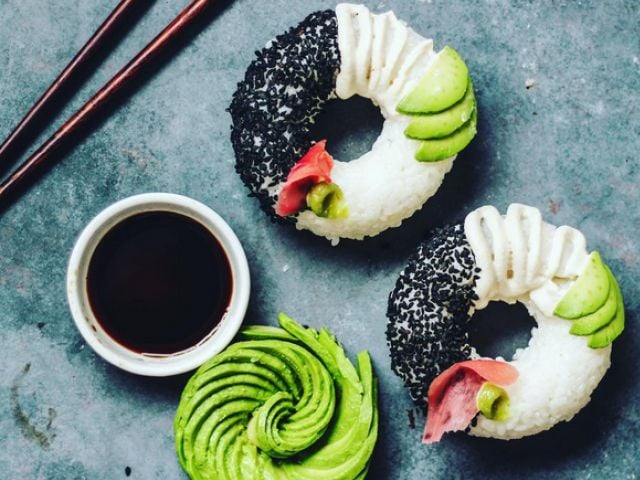 Sushi Donut: The Latest Food Trend Instagram is Drooling Over