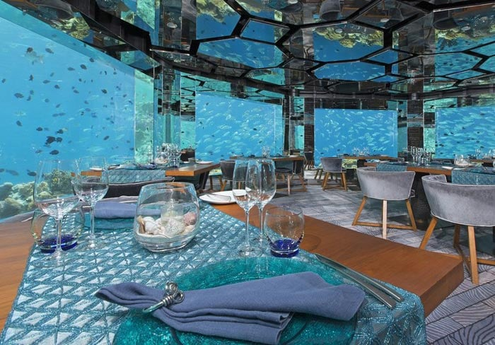 The Most Beautiful Underwater Restaurants in the World