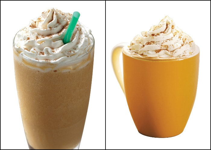 New Pumpkin Spice Beverages @Starbucks