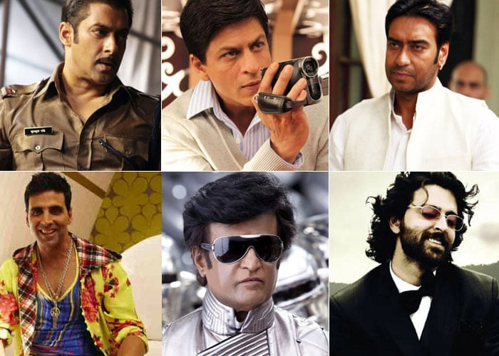 2010: Bollywood's Top Heroes