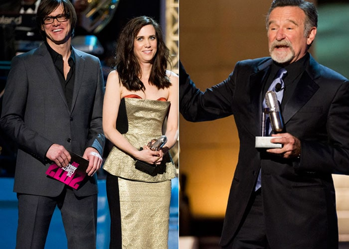 Robin Williams and Bridesmaids win 2012 Comedy Awards