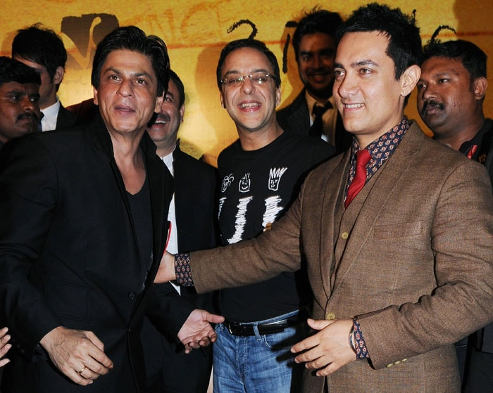The three Khans come together for 3 Idiots
