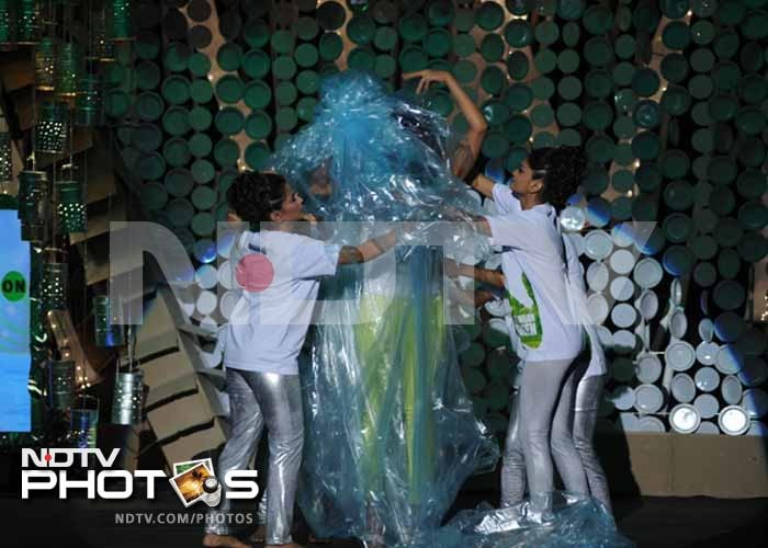 Plastic wrapped Priyanka's dramatic Greenathon entry