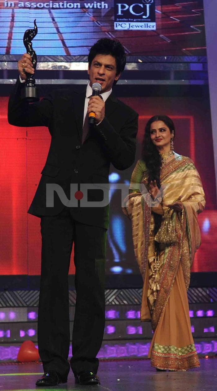 Filmfare Awards Srk Kajol Win Top Honours