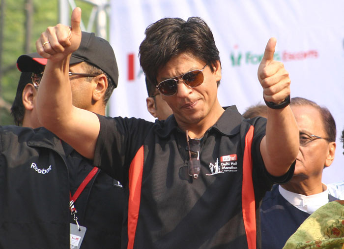 SRK's magic touch to Delhi Marathon