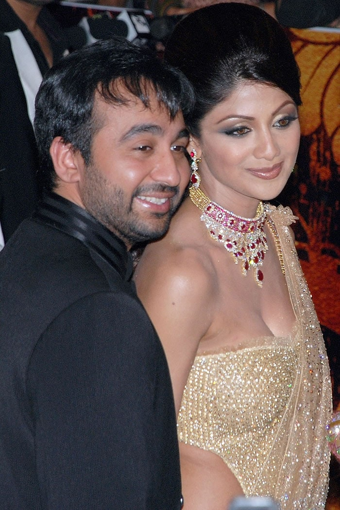 Shilpa Shetty's reception pics