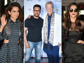 Aamir, Sonam, Kangana Meet Sir Ian McKellen