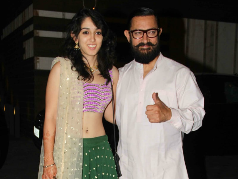 Aamir Khan And Daughter Ira Catch Up After Dangal Release