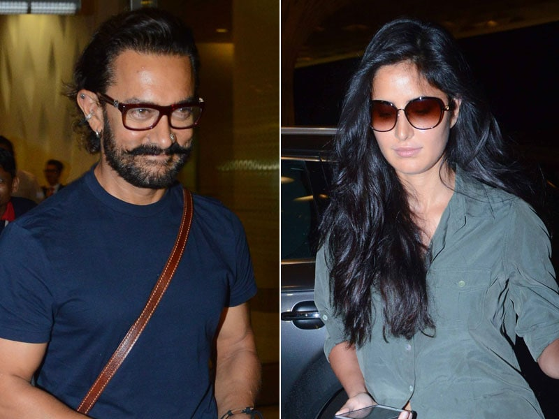 'Thug' Life At The Airport: Welcome Back, Aamir And Katrina