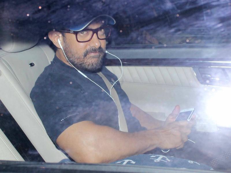 Aamir Khan, Alia Bhatt's Sunday Outings
